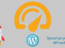 how to speed up wordpress website